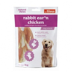Filous Rabbit Ear Chicken 80g