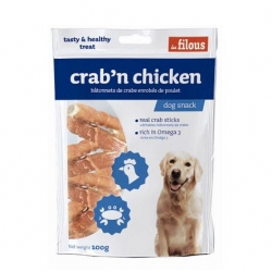 Filous Crab Chicken 100g