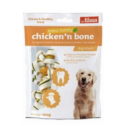 Filous Chicken Minty Bone With Chloro 100g 7pcs