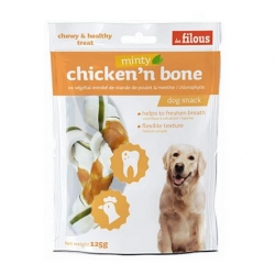 Filous Chicken Minty Bone with Chloro 125g 2pcs