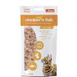 Filous Mini Chicken Fish 50g
