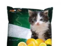 Sumo - Premium Cat Litter Limao 10l