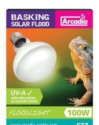 Basking Solar Floodlight E27 100W