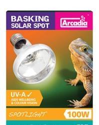 Basking Solar Spotlight E27 100W